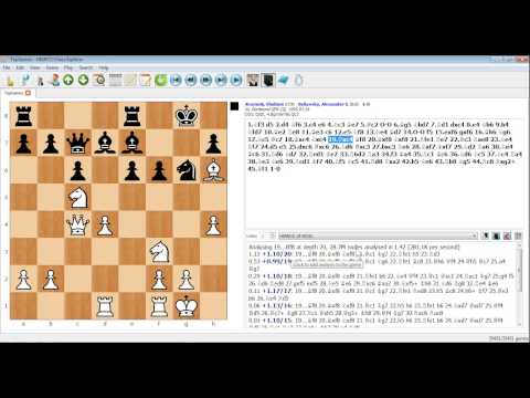PC Chess Explorer - Analysing using an engine