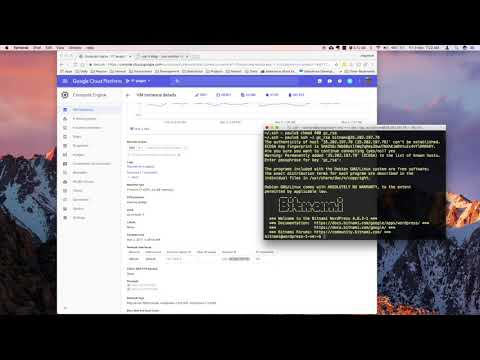 How to Connect via SSH and SFTP to Google Cloud on MacOS Sierra