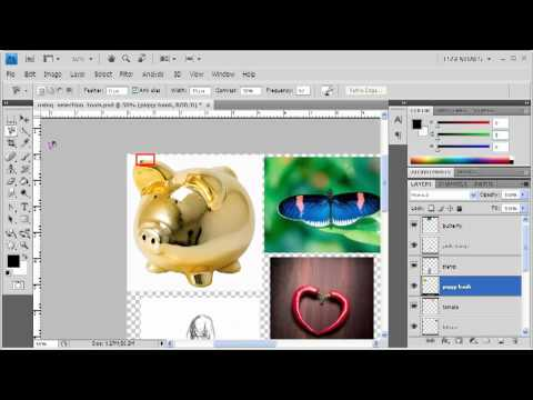 3.5 Working with Selection Tools: Adobe Photoshop CS4 Video