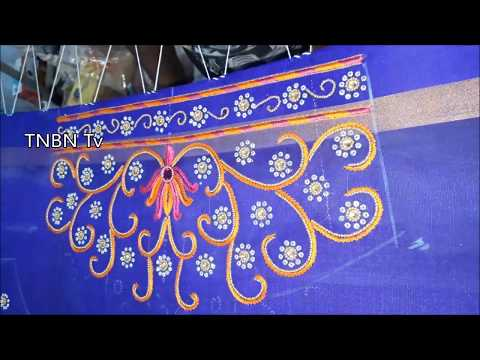 maggam work blouses online with price | simple maggam work blouse designs | hand embroidery designs