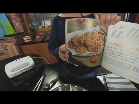 Making Waffle Fries