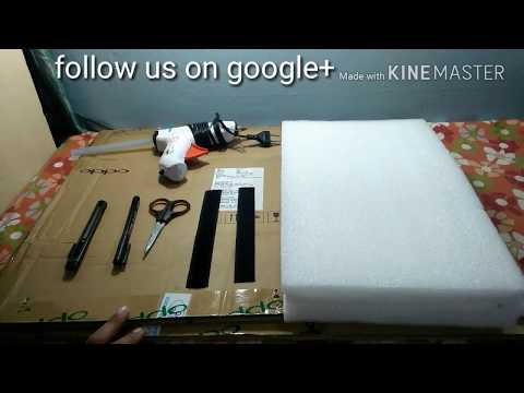 How to make cricket pads in home?