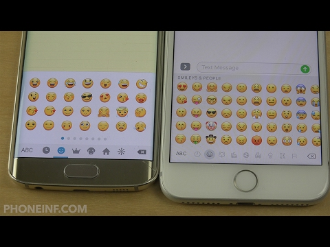 Which Emoji's are Best?! Samsung vs. Apple Emoji's and Smilies!