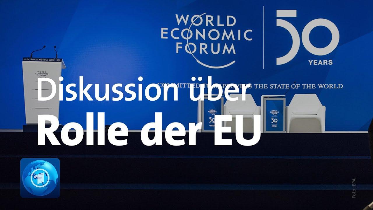 Zweiter Tag beim Weltwirtschaftsforum in Davos