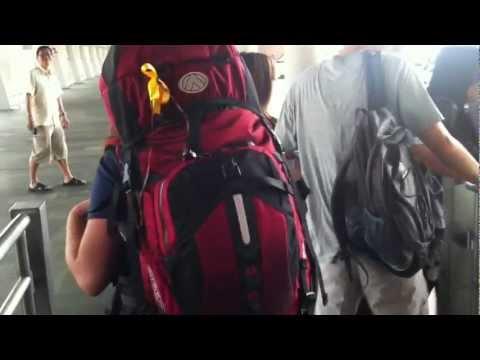 Singapore to Mersing - Backpackneymoon 2