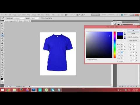 [NEW] How to change t-shirts How to replace color in photoshop [Photoshop Tutorial]