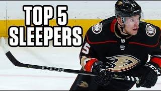 Top 5 Sleepers   2019 Fantasy Hockey Draft Kit