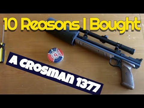 10 Reasons to buy a low cost Crosman 1377 Air Pistol