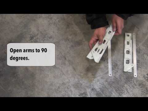 SeasonGuard Plus Retractable Screen Door Installation Video (ENG)