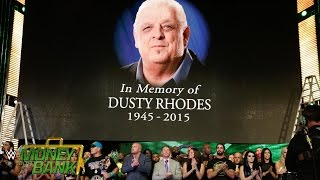 WWE Network: The WWE roster honors the life of WWE Hall of Famer The American Dream Dusty Rhodes