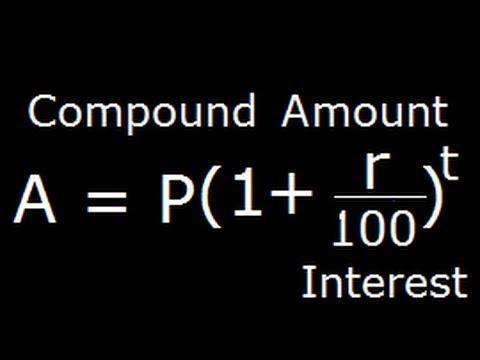Compound Interest and Compound Amount Derivation