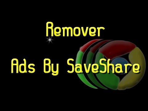 Como Quitar Ads By SaveShare de Google Chrome