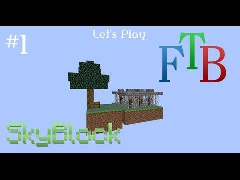 FTB Skyblock - Episode 1 - The Begining (Part 1)