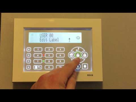 How to change the code on a Lightsys 2 Burglar Alarm