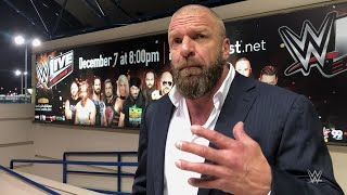 "Triple H sums up an ""epic"" two days in Abu Dhabi"