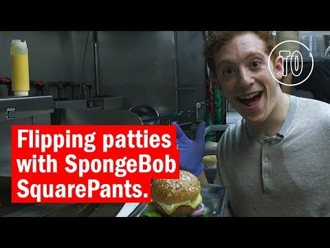 Spent a day with Ethan Slater   SpongeBob SquarePants