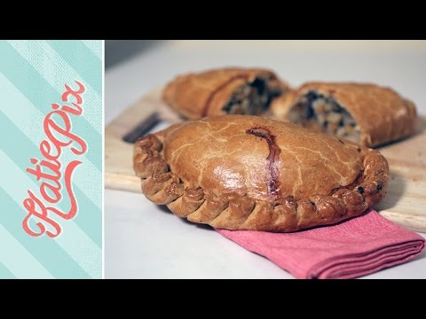 Homemade Steak & Onion Cornish Pasty Recipe | Katie Pix