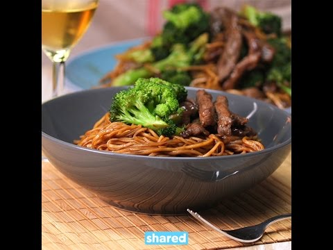 Beef and Broccoli Noodle Stir Fry