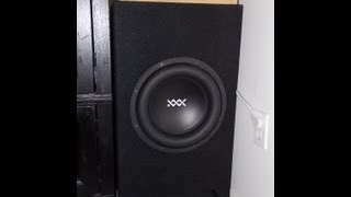 """RE Audio Sub XXX 12"""" - Car Subwoofer for Home Theater HT Audio"""