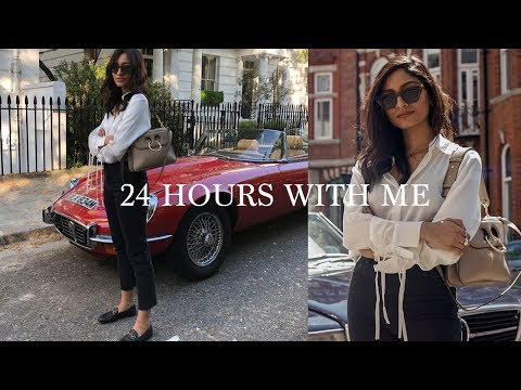 SPEND 24 HOURS WITH ME | WORK, SKINCARE & DIET