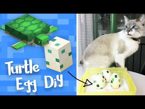 Minecraft Turtle Easter Eggs - StacyPlays DIY