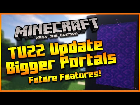 Minecraft Xbox + PS3 Title Update 22 Bigger Nether Portals Feature & More! [TU22]