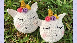Amigurumi Crochet Amigurumi Unicorn of Easy Step by Step Crochet ... | 180x320