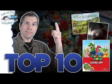 Top 10 most popular board games: May 2017