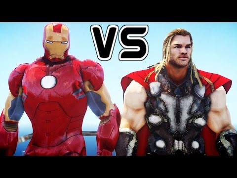 IRON MAN VS THOR - EPIC BATTLE