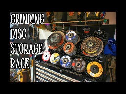 Grinder Disc Storage: Shop Projects