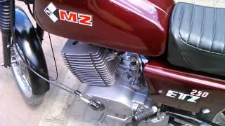 mz etz 250 DDR 83r   engine sound