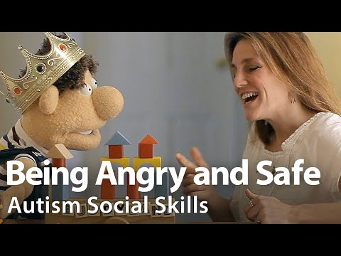 Being Angry and Safe Social Story Video