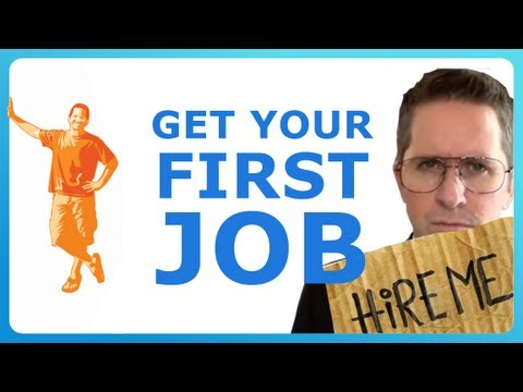 HOW TO FIND YOUR FIRST JOB
