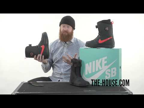 2015 Nike Zoom Force 1 BOA Snowboard Boots - Review - The-House.com
