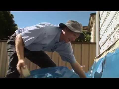 Lead Safe Blitz - Removing exterior paint