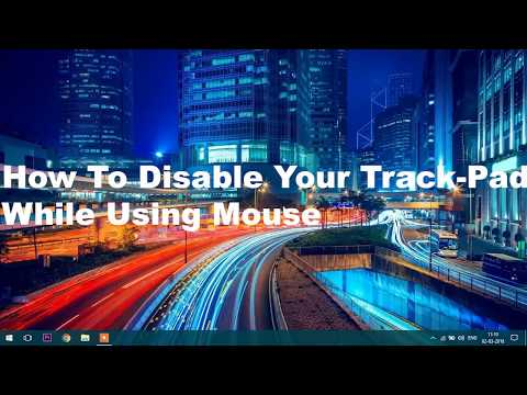 Disable Touchpad/Trackpad in Windows 10