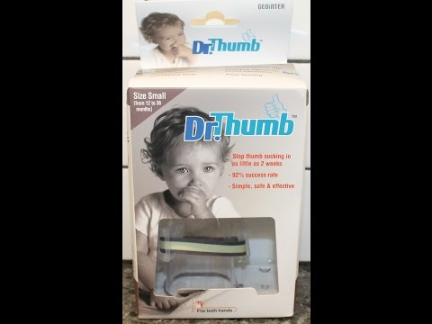 Dr. Thumb - Thumb Guard: Does It Really Work?