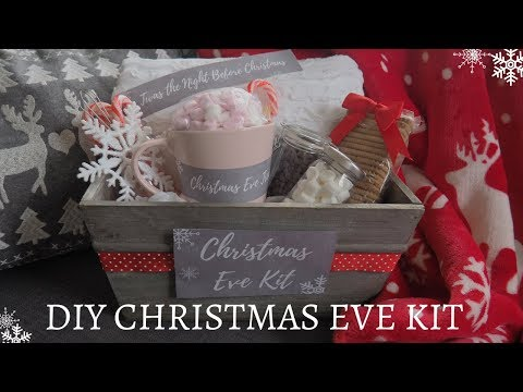 DIY Christmas Eve Kit | FREE Printable Labels