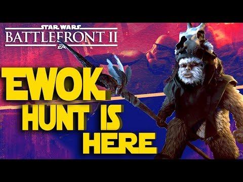 Ewok Hunt Dead By Moonlight!! - Star Wars Battlefront II Spooky Live Stream