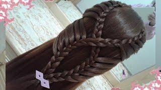 peinados recogidos faciles para cabello largo bonitos y rapidos con trenzas para nia para fiestas