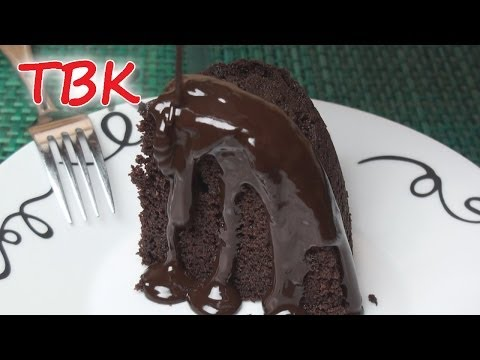 Chocolate Sponge Pudding with Hot Chocolate Sauce Recipe - Titli's Busy Kitchen