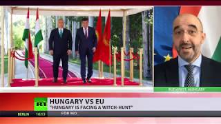 Hungary fights back against report that the country violated EU rights