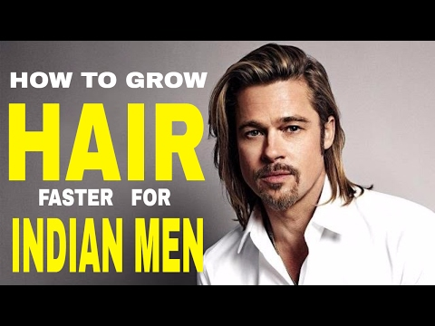 HOW TO GROW HAIR FASTER & LONGER ( For INDIANS ) | HINDI