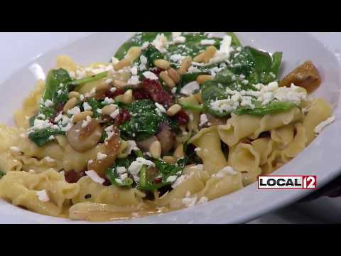 Brio makes a pasta dish that's on the lighter side