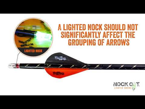 Hunting Arrow Anatomy |   Nock Out® Lighted Nocks
