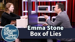 Jimmy and Emma take turns trying to stump each other about what item is hidden inside their mystery boxes.  Subscribe NOW to The Tonight Show Starring Jimmy Fallon: http://bit.ly/1nwT1aN  Watch The Tonight Show Starring Jimmy Fallon Weeknights 11:35/10:35c Get more Jimmy Fallon:  Follow Jimmy: http://Twitter.com/JimmyFallon Like Jimmy: https://Facebook.com/JimmyFallon  Get more The Tonight Show Starring Jimmy Fallon:  Follow The Tonight Show: http://Twitter.com/FallonTonight Like The Tonight Show: https://Facebook.com/FallonTonight The Tonight Show Tumblr: http://fallontonight.tumblr.com/  Get more NBC:  NBC YouTube: http://bit.ly/1dM1qBH Like NBC: http://Facebook.com/NBC Follow NBC: http://Twitter.com/NBC NBC Tumblr: http://nbctv.tumblr.com/ NBC Google+: https://plus.google.com/+NBC/posts  The Tonight Show Starring Jimmy Fallon features hilarious highlights from the show including: comedy sketches, music parodies, celebrity interviews, ridiculous games, and, of course, Jimmy