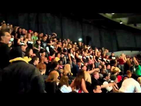 U-Jam Flash Mob Oracle Arena 12-2-10 Go Warriors
