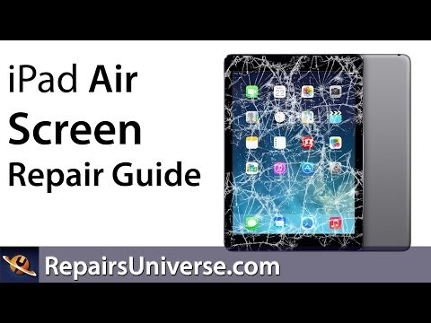 iPad Air Screen Replacement Repair Guide