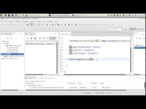 77 Java Array HashMap هاش ماب جافا
