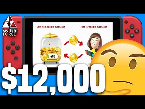 My Nintendo Points = Money On Switch! But Is It CRAZY?